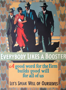 Everyone likes a booster poster
