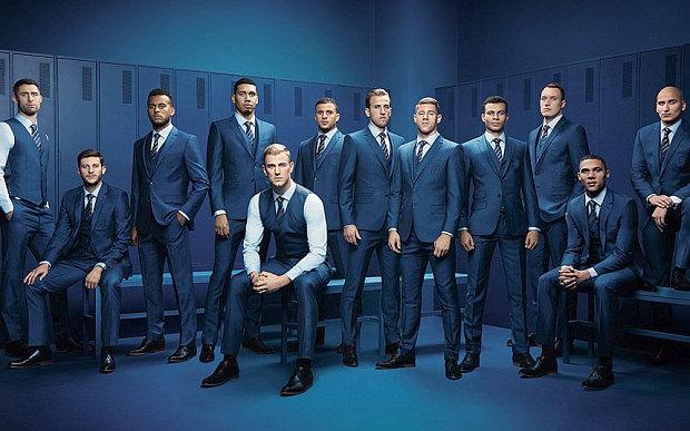 England's Euro Team