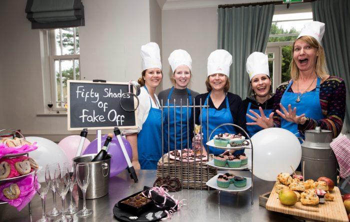 Halloween team baking